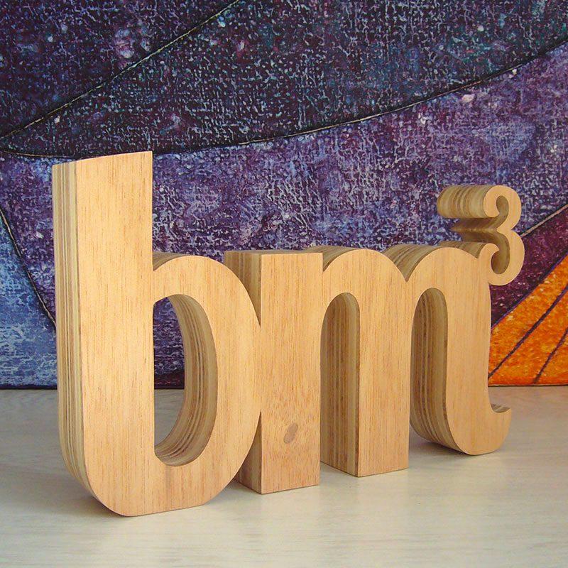letras de madera personalizadas