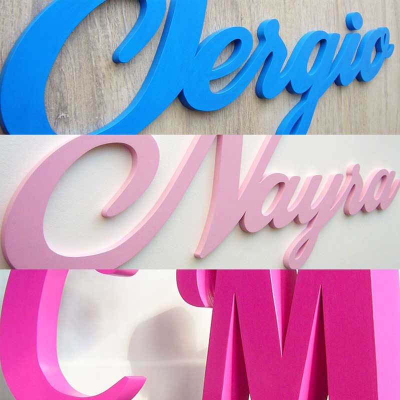 letras lisas
