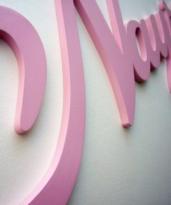 nombre decorado en rosa nayra
