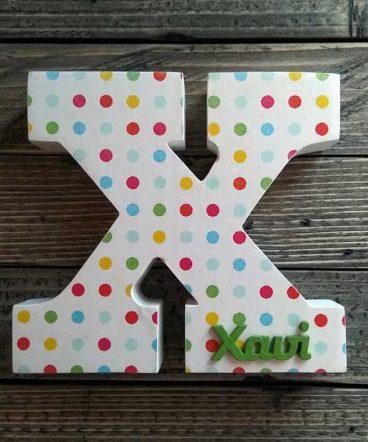 letra x con nombre xavi