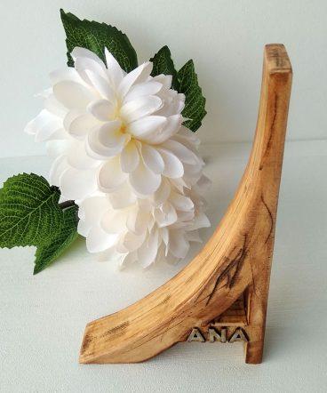 a de madera natural envejecida