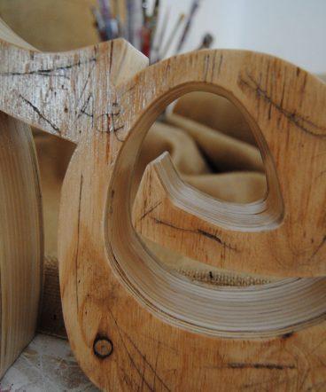 life de madera maciza grande