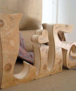 Life de madera natural envejecida