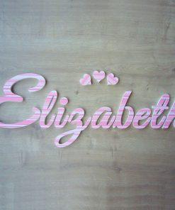nombre de niña elizabeth rayas rosas