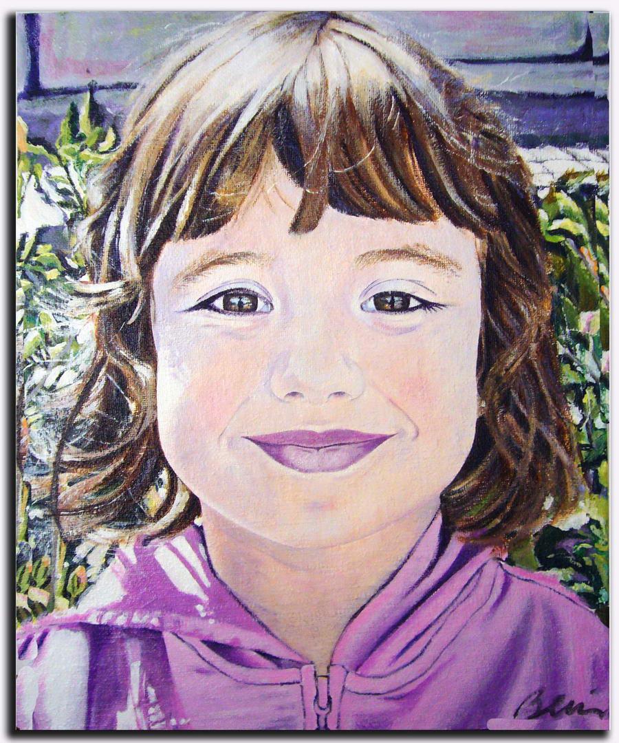 maria-retrato-niña Mis cuadros