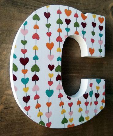 corazoncitos multicolor