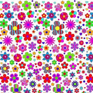 decoracion multicolor