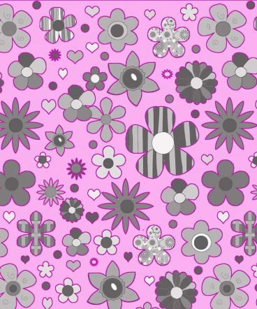 flores-rosas-sobre-gris