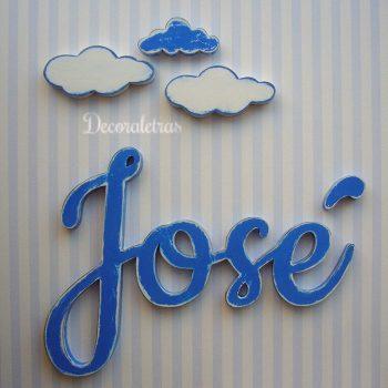 jose-de-pared-azul-1-350x350 LETRAS DE MADERA PERSONALIZADAS Y TOTALMENTE ARTESANALES