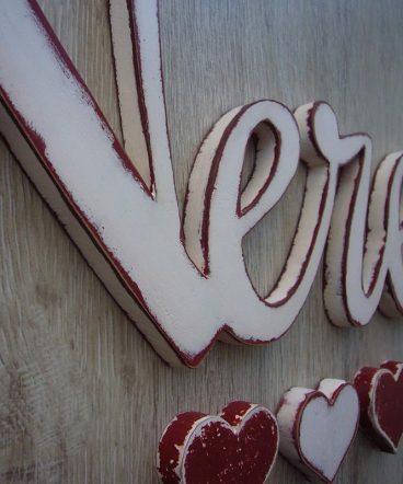 nerea nombre de madera en blanco