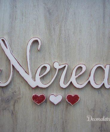 nerea-nombre-de-madera-vintage