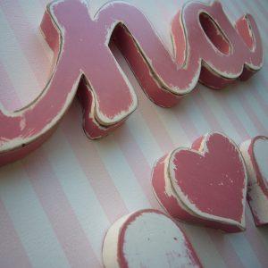 nombre ana en color rosa