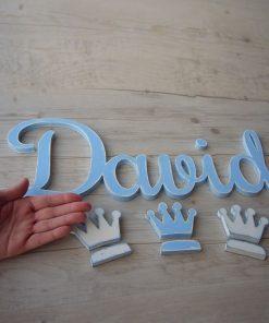 nombre de madera david celeste