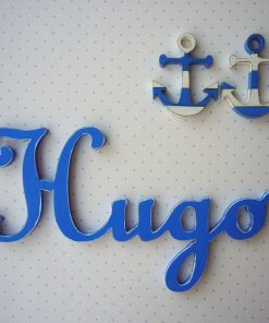 hugo nombre decorado de pared