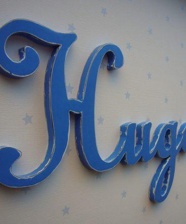 hugo nombre decorado de pared