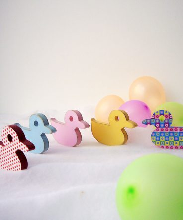 siluetas de patitos para bebes