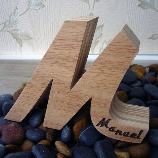 m de madera personalizada