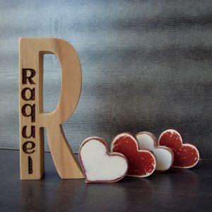 r de madera personalizada