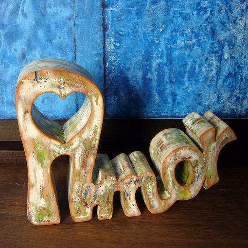 palabra amor para decorar