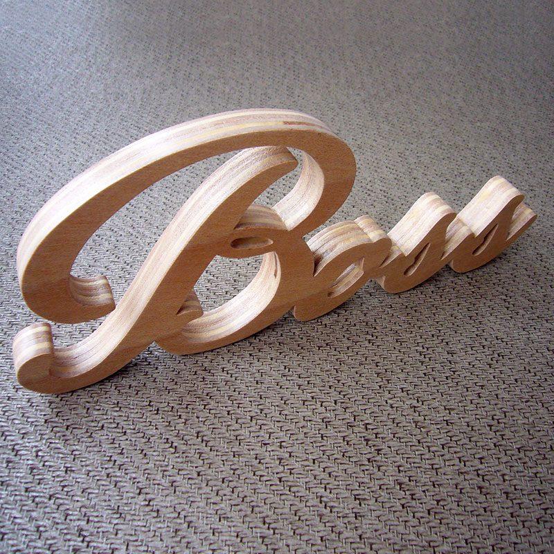 letras de madera nombre