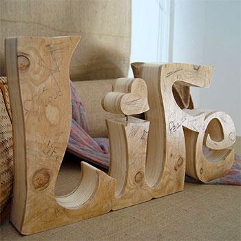 palabra-de-madera-life Madera natural para tus letras más preciadas Uncategorized