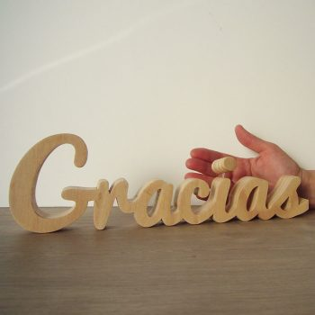 gracias-madera-81-350x350 LETRAS DE MADERA PERSONALIZADAS Y TOTALMENTE ARTESANALES