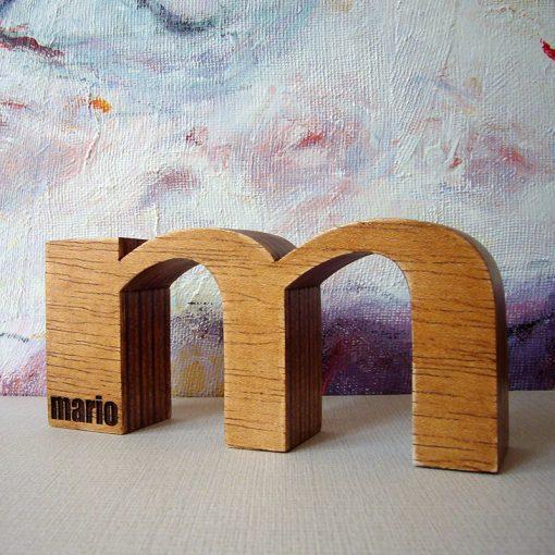M de Mario personalizada