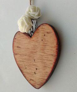 corazones de madera para decorar