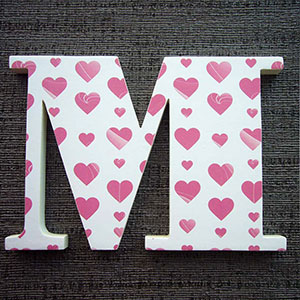 letra-m-corazones Galería 7
