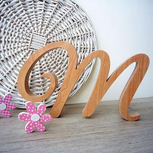 letra-m-madera-natural Madera natural para tus letras más preciadas Uncategorized