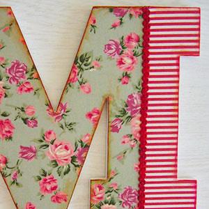 letra-m-rayas-flores Galería 7