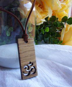 collar colgante rectangular chakra