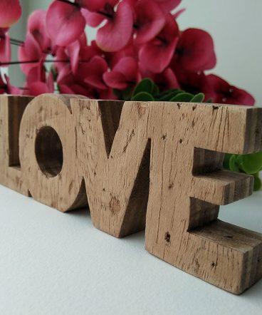 love de madera vintage