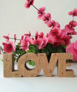love de madera pequeño