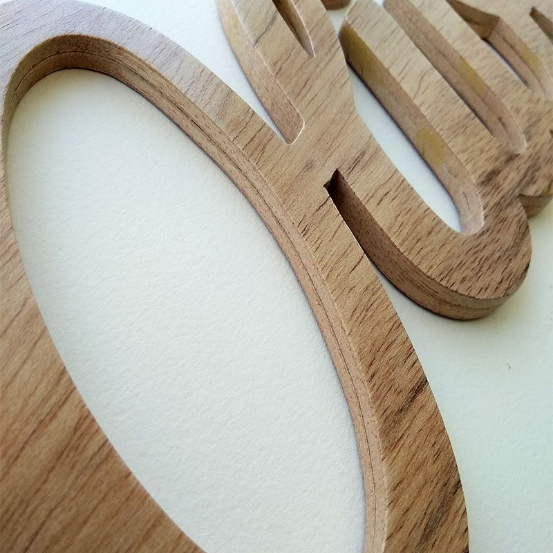 nombre de madera artesano