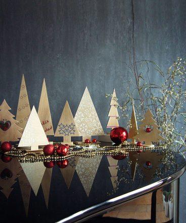 Adornos de Navidad en madera