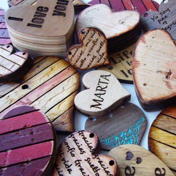 corazones-variados-350x350 LETRAS DE MADERA PERSONALIZADAS Y TOTALMENTE ARTESANALES