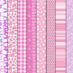 rosa y fucsia