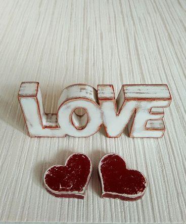 love blanco y rojo