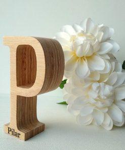 letra-p-nombre-pilar-247x296 LETRAS DE MADERA PERSONALIZADAS Y TOTALMENTE ARTESANALES