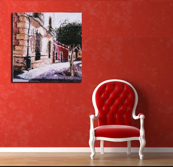 plaza-Campo-amor-80x80-cms.-1800-E. Mis cuadros
