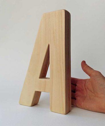 a de madera maciza